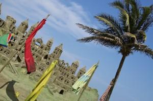 - Sand castle -