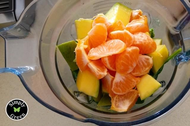 Creamy Avocado-Tangerine