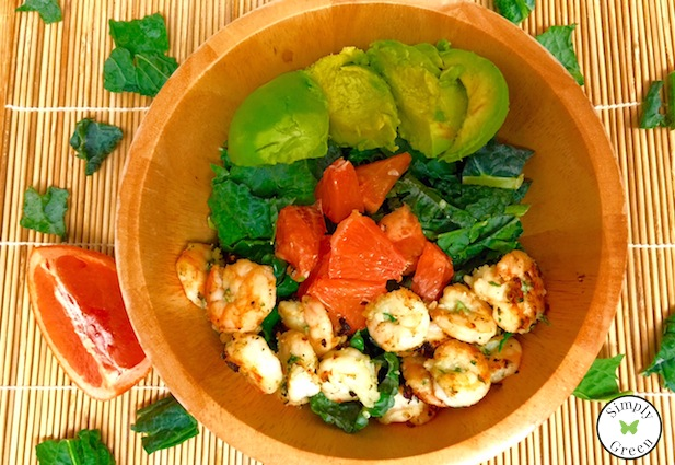 Fresh Shrimp Dinner Salad