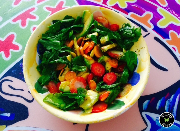 Colorful Arugula Salad