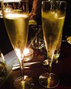 Cheers at Aqua Nueva