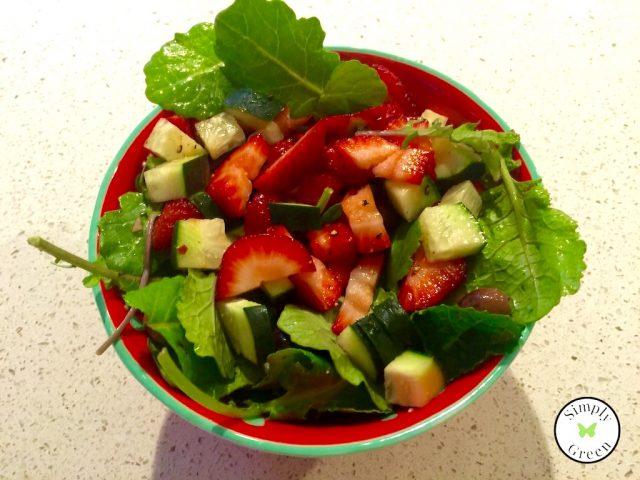 Luscious Strawberry Salad